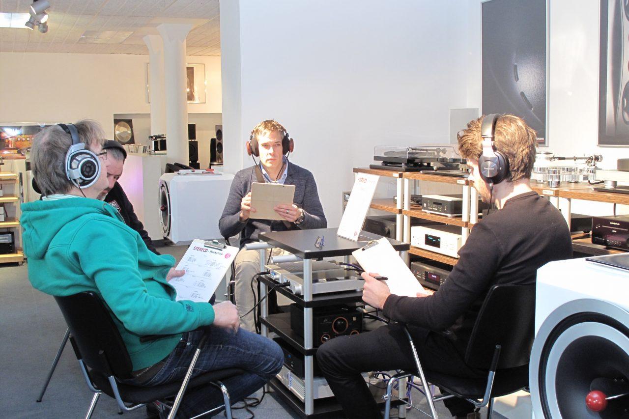 Stereo Kopfhörer Workshop 2017 Alex Giese Hannover