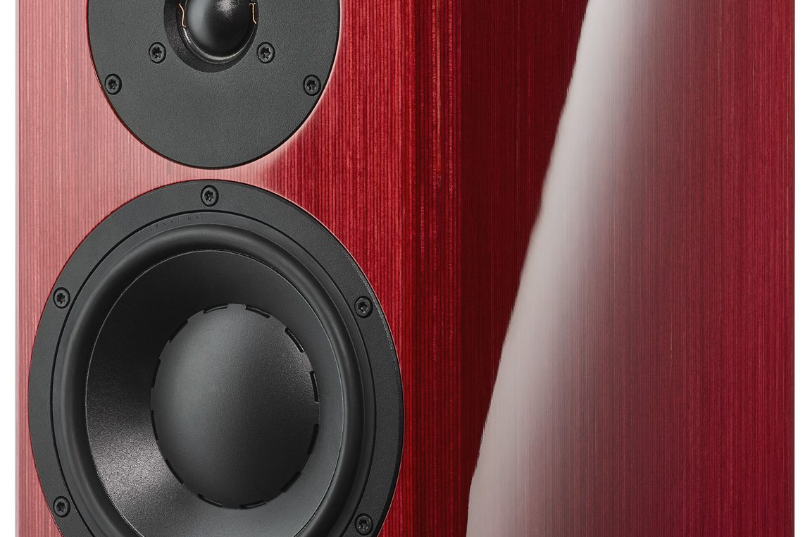 Dynaudio Special Forty red birch Seitenansicht