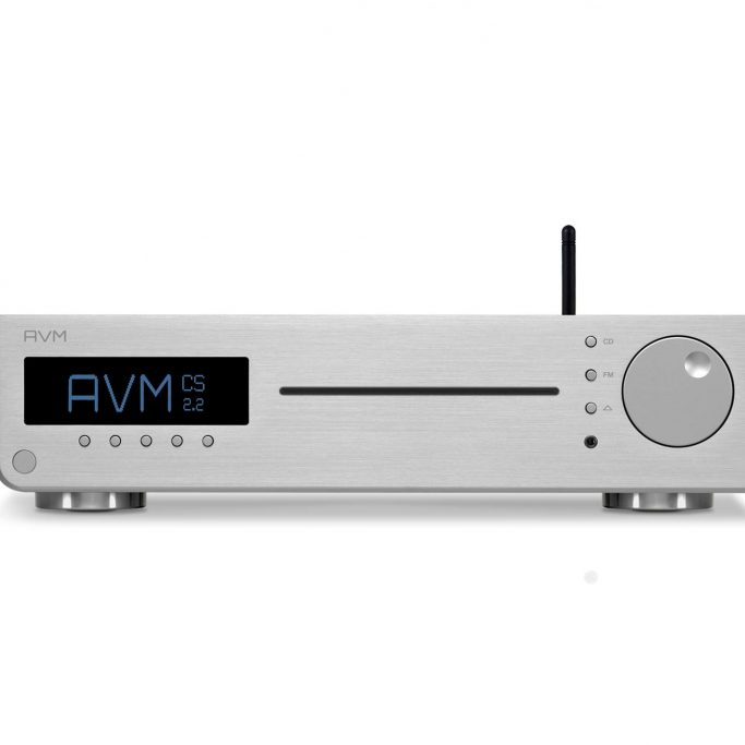 AVM AllInOne CD Receiver DAC Compact Streaming Inspiration CS2.2