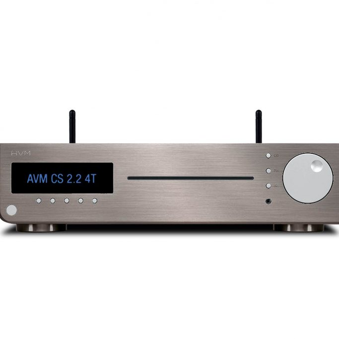 AVM AllInOne CD Receiver DAC Compact Streaming Inspiration CS2.2 4T