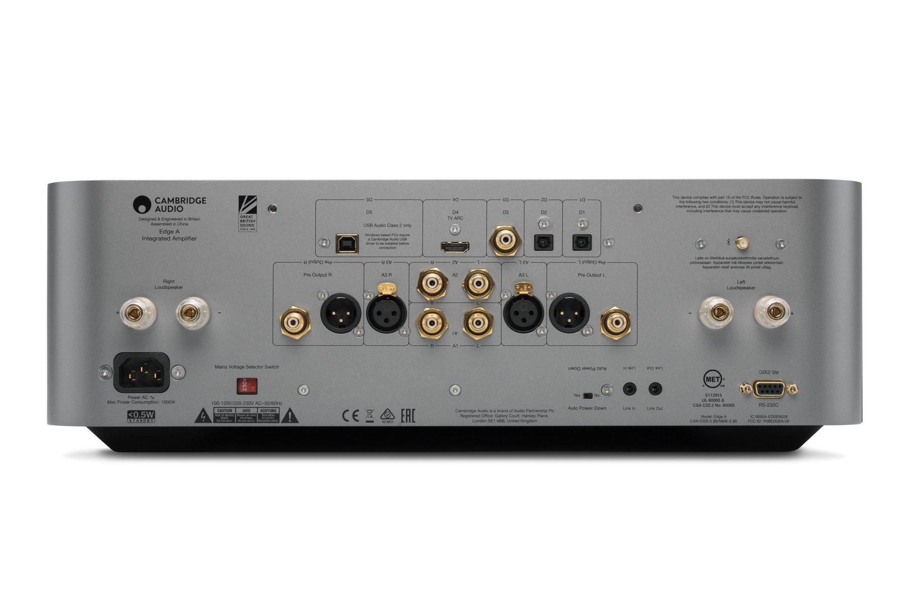 Cambridge Audio Vollverstaerker Amplifier Edge A