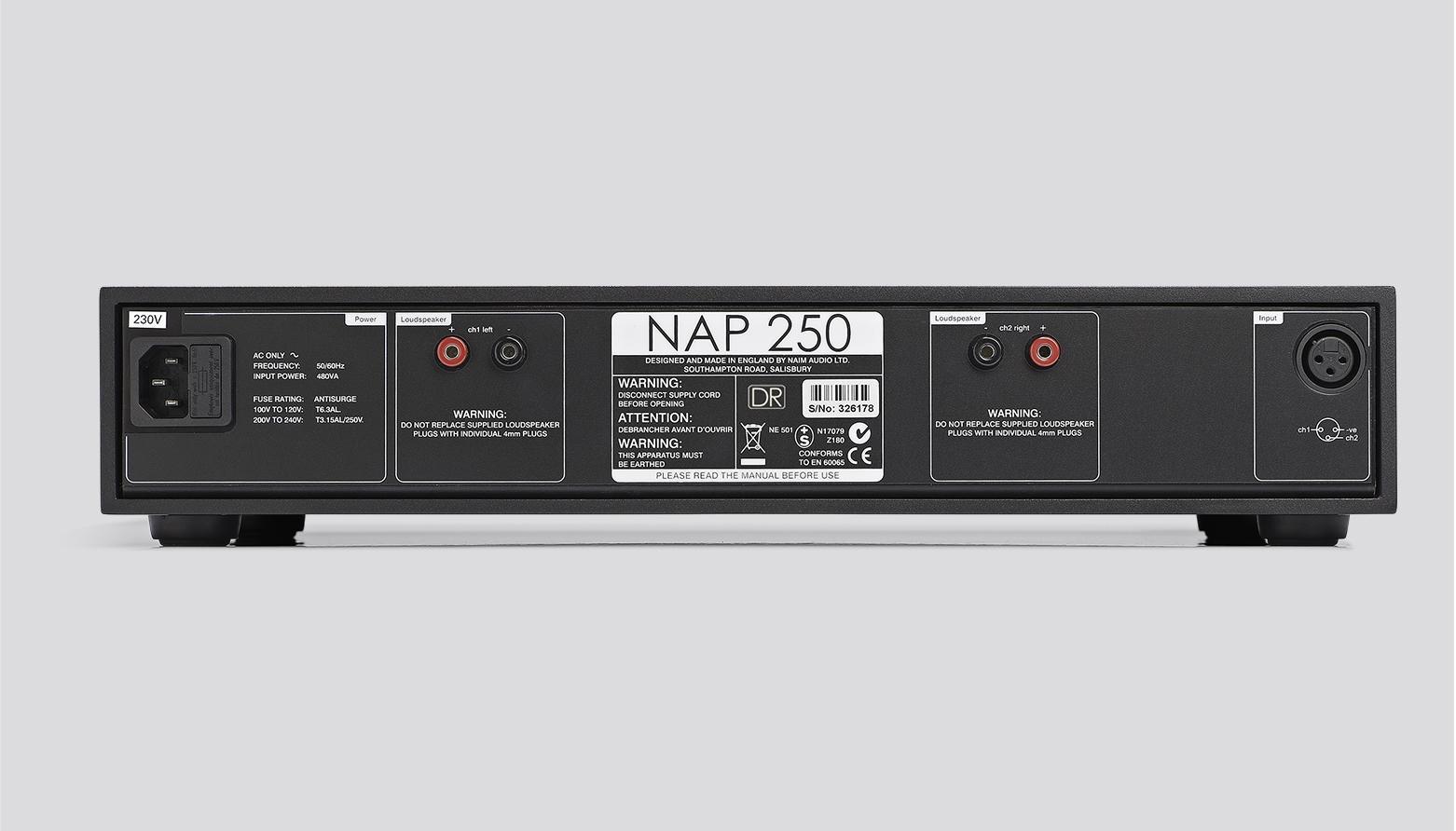 NAIM Stereo Endstufe Power Amplifier NAP-250
