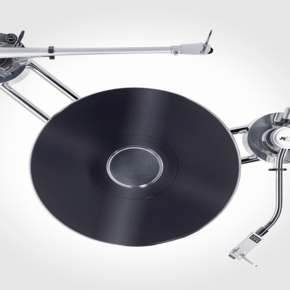 Transrotor Max zwei Tonarme Plattenspieler HighEnd