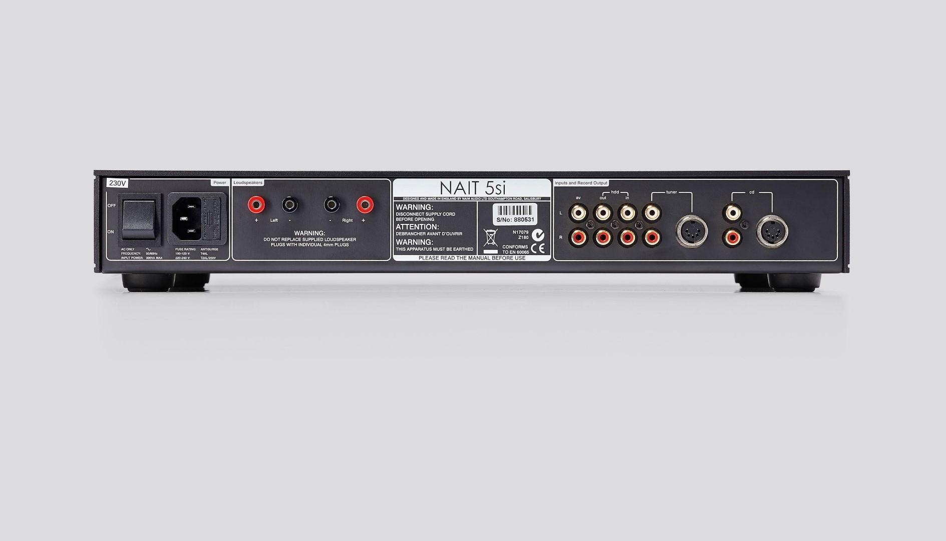 NAIM Vollverstärker Amplifier Amp Verstärker NAIT-5si