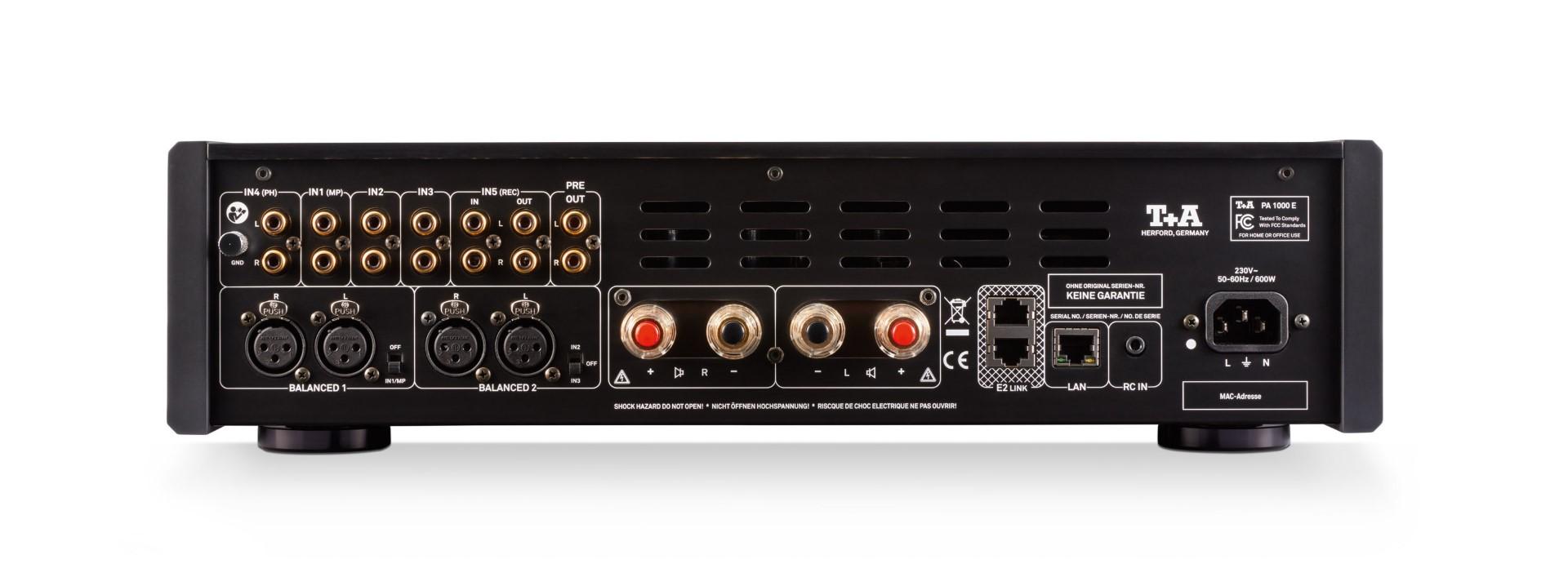 T+A Vollverstärker Amplifier PA-1000E