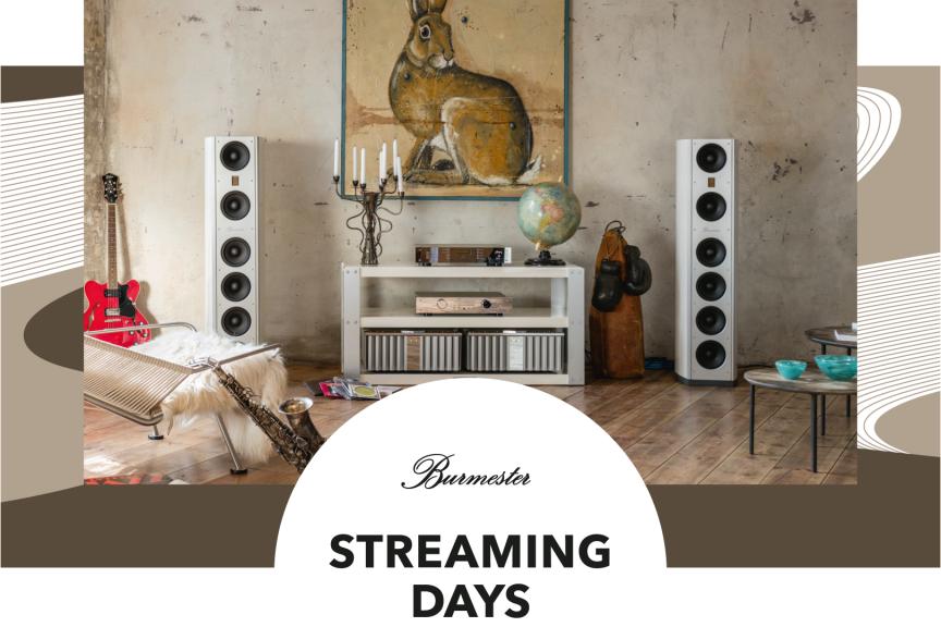 Alex Giese präsentiert die Burmester Streaming Days 2018