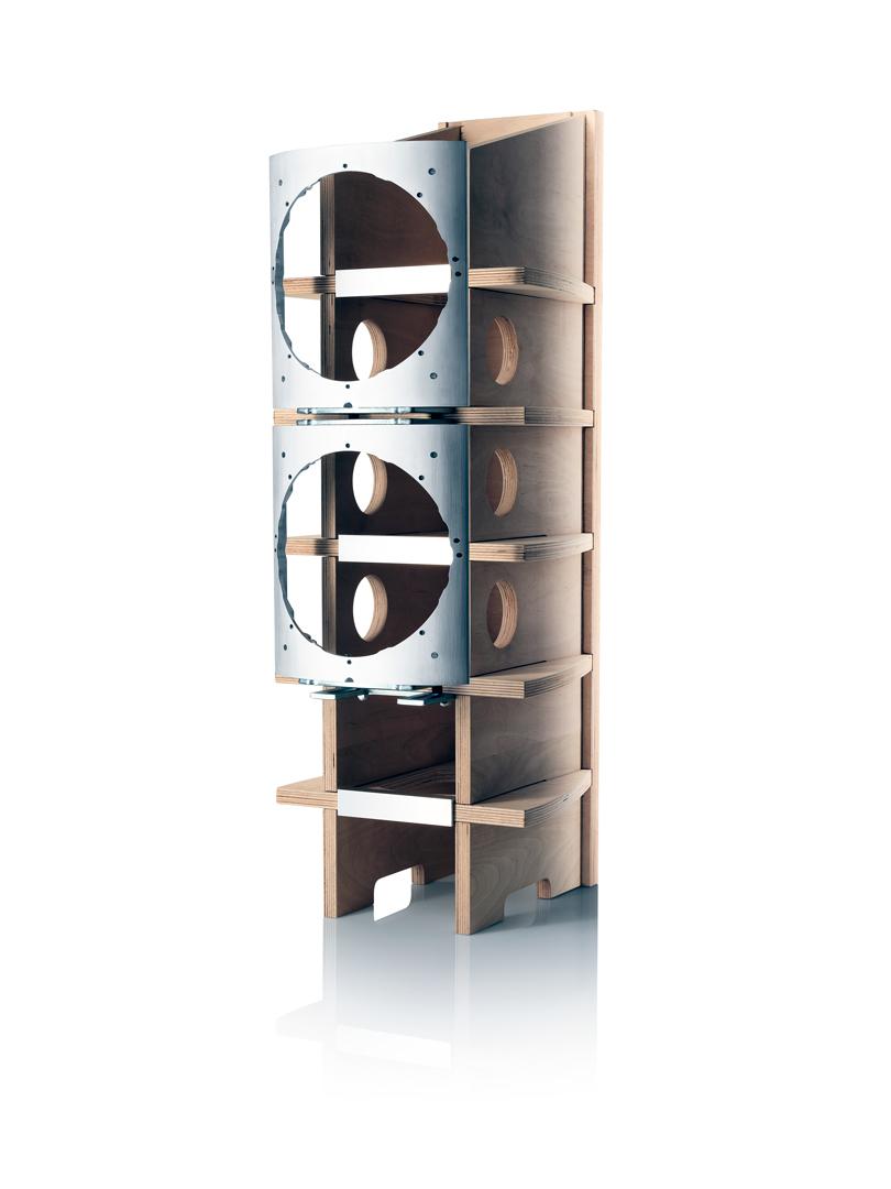 B&W 800D3 Gehäuse-Aufbau