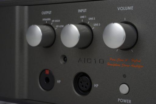 Riviera AIC-10, Pure Class A hybrider Kopfhörer und Leistungsverstärker