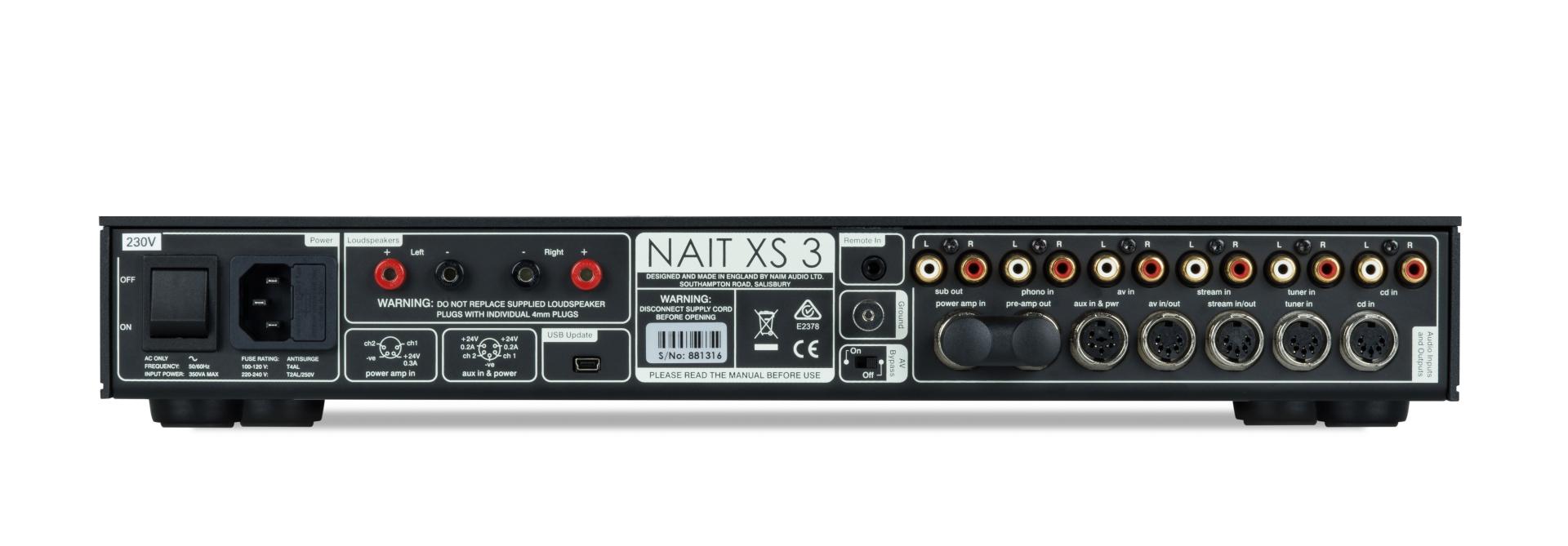 Die neuen Naim SUPERNAIT 3 & Naim NAIT XS 3 jetzt bei Alex Giese Hannover