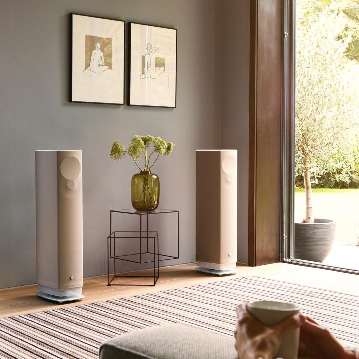 Linn Serie 530 - Die wandelbaren Aktiv-Lautsprecher die sich perfekt Ihrem Raum anpassen.