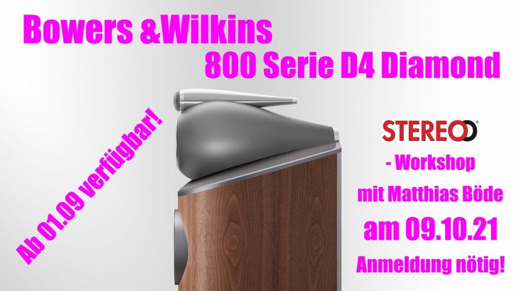 Die neue Bowers & Wilkins 800er D4 Serie - Bald in Hannover bei Alex Giese verfügbar!
